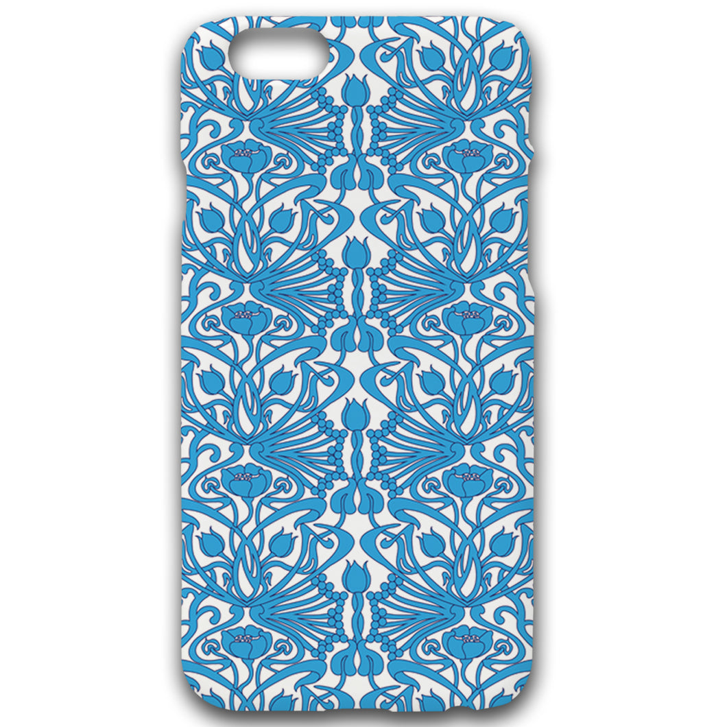 Art Nouveau In Blue - Phonecase - Art By Catherine Davis