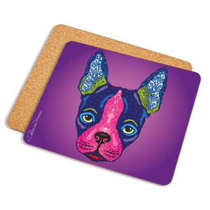 Boston Terrier - Placemat - Art By Catherine Davis