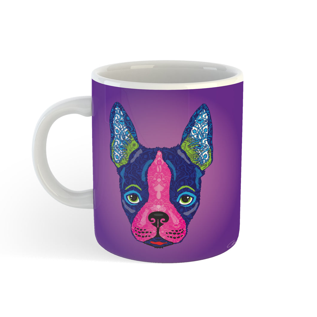 Boston Terrier - Mug - Art By Catherine Davis