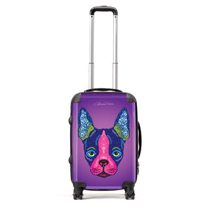 Boston Terrier - Suitcases - Art By Catherine Davis