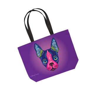Boston Terrier - Tote Bag - Art By Catherine Davis