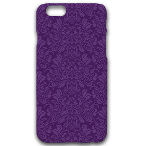 Brocade In Purple - Phonecase - Art By Catherine Davis