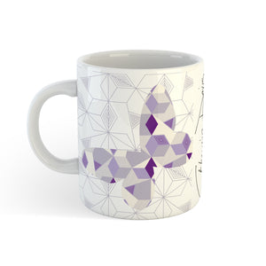 Butterfly Geomal - Mug - Art By Catherine Davis