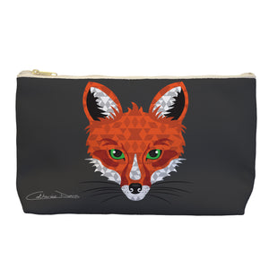 Fox - Cosmetic Bag - Art By Catherine Davis