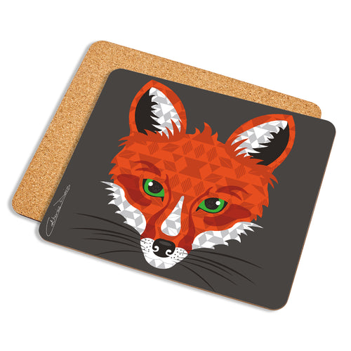 Fox - Placemat - Art By Catherine Davis
