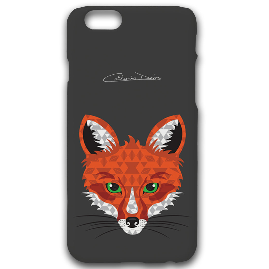 Fox - Phonecase - Art By Catherine Davis