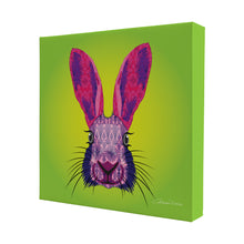 Hare - Mini Canvas - Art By Catherine Davis