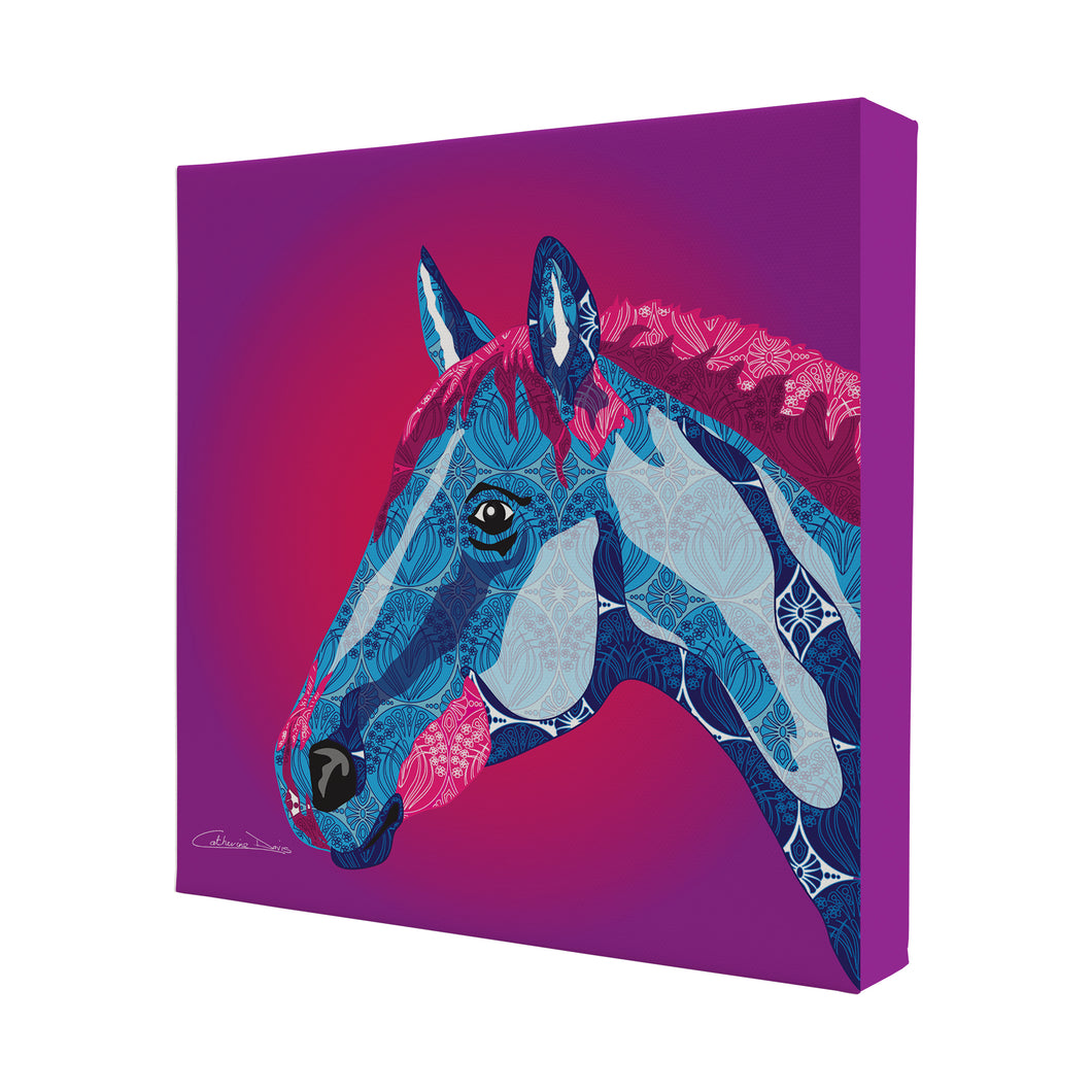 Horse - Mini Canvas - Art By Catherine Davis