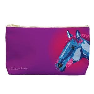 Horse - Cosmetic Bag - Art By Catherine Davis