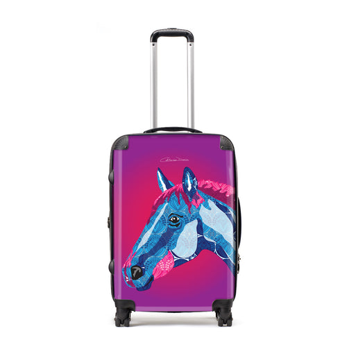 Horse - Suitcases - Art By Catherine Davis