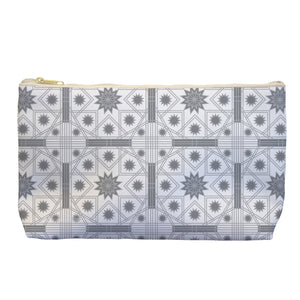 Islamic In Grey - Cosmetic Bag - Art By Catherine Davis