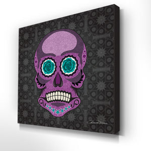 Mr Skullkin - Premium Canvas - Art By Catherine Davis