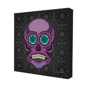Mr Skullkin - Mini Canvas - Art By Catherine Davis