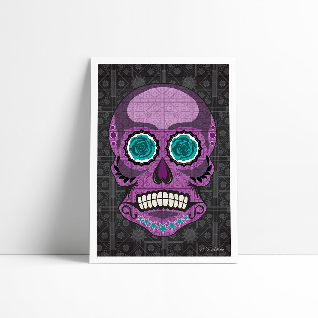 Mr Skullkin - Art Print - Art By Catherine Davis