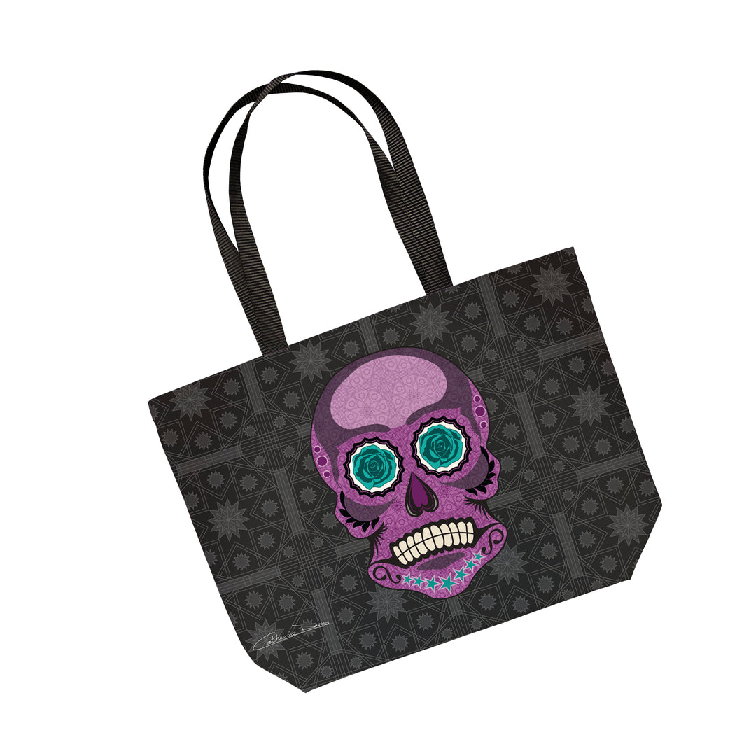 Mr Skullkin  - Tote Bag - Art By Catherine Davis