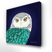Owl - Premium Canvas - Art By Catherine Davis