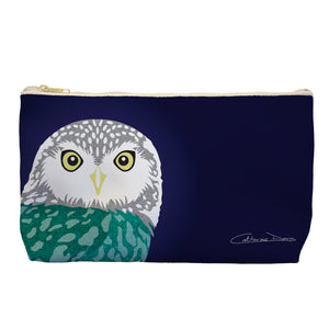 Owl - Cosmetic Bag - Art By Catherine Davis