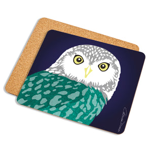 Owl - Placemat - Art By Catherine Davis