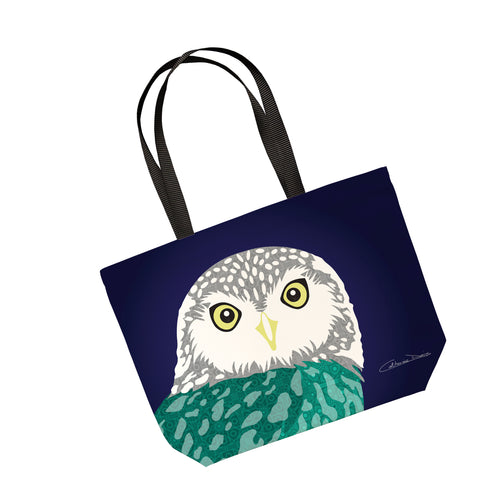 Owl - Tote Bag - Art By Catherine Davis