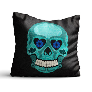 Sir Bonehead - Cushion - Art By Catherine Davis