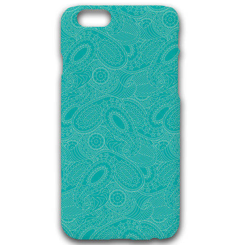 Paisley In Teal - Phonecase - Art By Catherine Davis