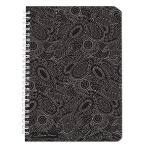 Paisley In Black - Notebooks - Art By Catherine Davis