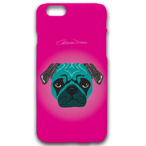 Stanley The Pug - Phonecase - Art By Catherine Davis