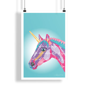 Unicorn - Poster - Art By Catherine Davis