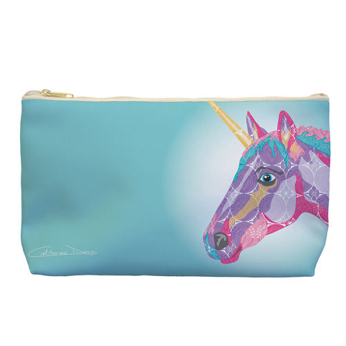 Unicorn - Cosmetic Bag - Art By Catherine Davis