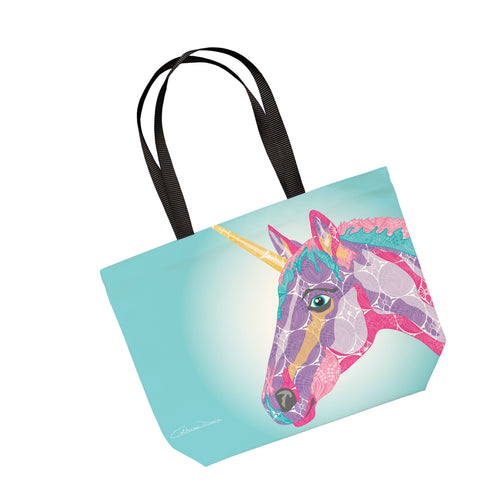 Unicorn  - Tote Bag - Art By Catherine Davis