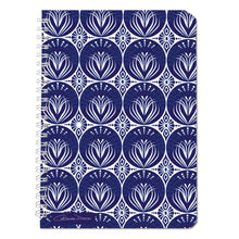 Art Nouveau In Dark Blue - Notebooks - Art By Catherine Davis
