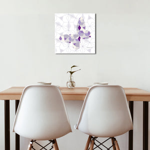 Butterfly Geomal - Premium Canvas - Art By Catherine Davis
