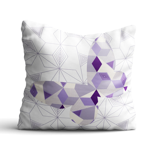 Butterfly Geomal - Cushion - Art By Catherine Davis