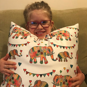 Clarissa's Love - Charity Cushion - Art By Catherine Davis