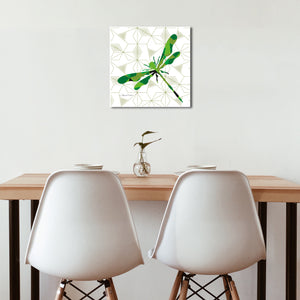 Dragonfly Geomal - Premium Canvas - Art By Catherine Davis