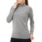 WOLFONROAD 1/4 Zipper Pullover Tops Womens  Shirts