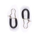 50pcs/Pack Fishing Swivel Snaps with Tube