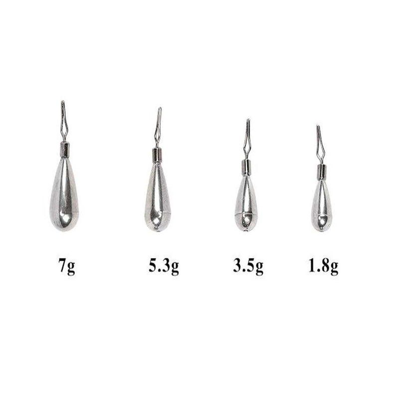 Tungsten Steel  Fishing Lead Sinker