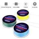 4 Strands 500M / 546.8YDS Carp Fishing Line