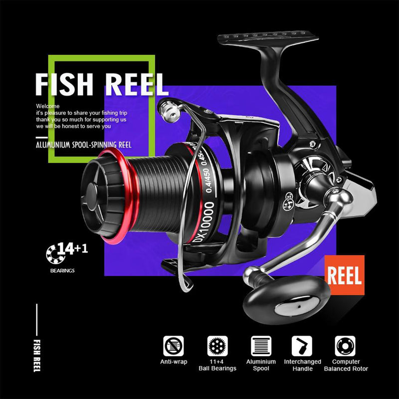SAMOLLA Spinning Fishing Reel