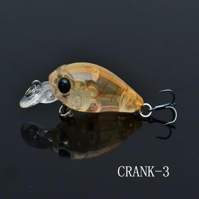 LUSHAZER Crank Bait Fishing Lures