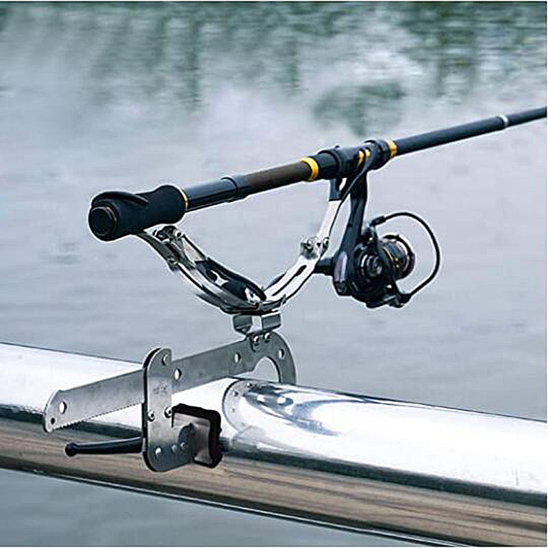 AMYSPORTS Boat Marine Adjustable Fishing Rod Holder