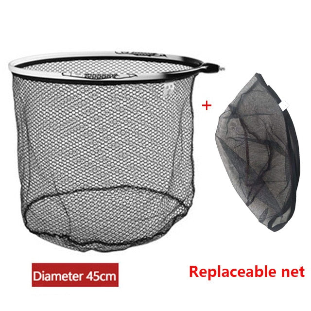 Brail Nano Titanium Alloy Landing  Fishing Net