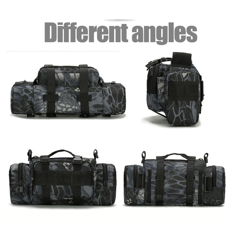 Large Capacity Canvas Waterproof Fishing Bag