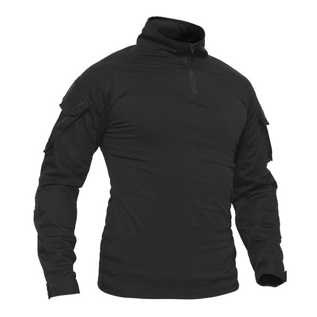 1/4 Zip Long Sleeve Shirts