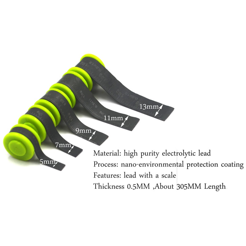 2Pcs High Quality Adjust Fishing Weight Lead