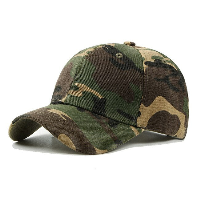 Outdoor Snapback Camouflage Tactical Cap