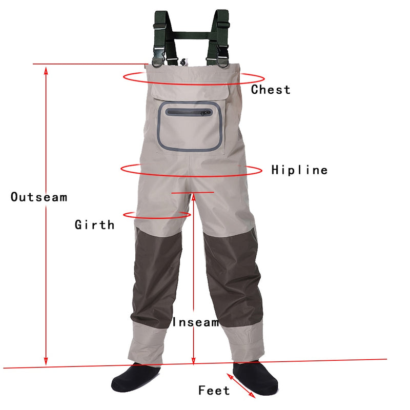 Men's Neoprene Stocking Foot  Waders