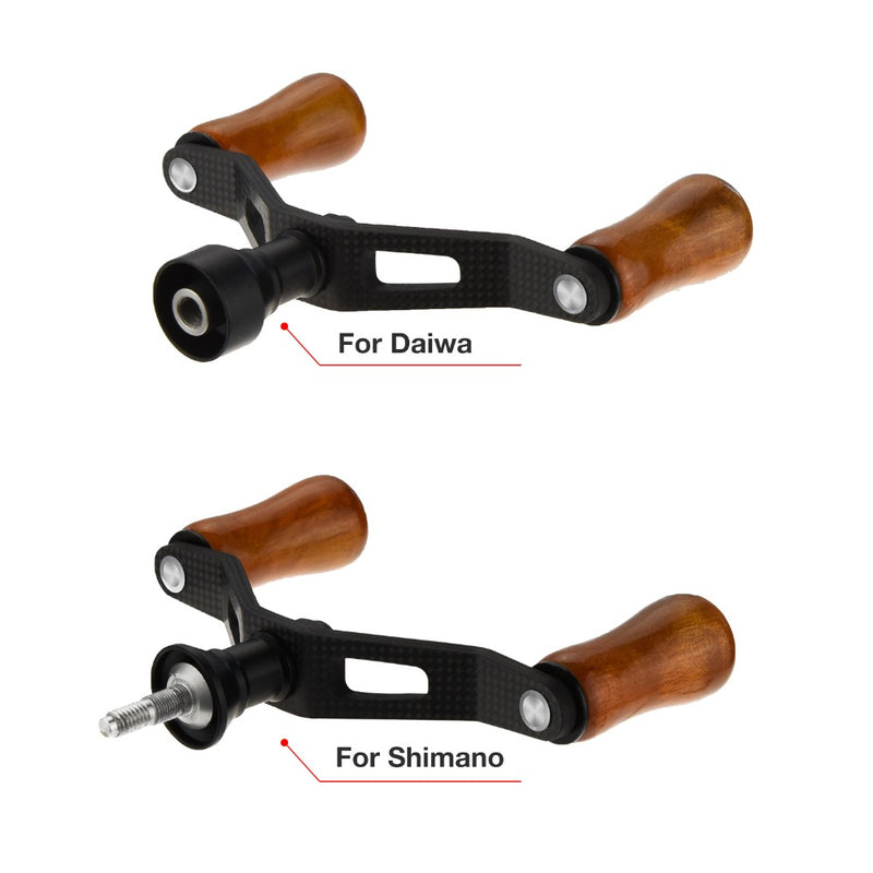 Piscifun Wood Double Spinning Reel Handle