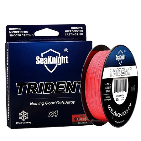 SeaKnigt 4 Strand Braided Wire 300m 40LB Fishing Line